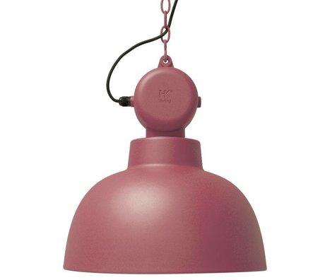 HK-living Asma lambası Fabrika marsala mat metal büyük Ø50cm