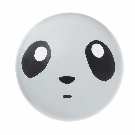 Ferm Living Gancho de pared 'gancho panda' 5cm madera gris