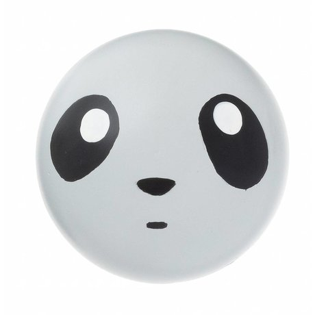 Ferm Living Wall Hook 'panda hook' gray wood 5cm