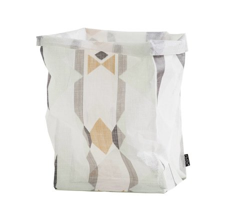 OYOY 30x30x54cm poliestere multicolore Ausbewahrungskorb 'borsa Mumbo Jumbo'