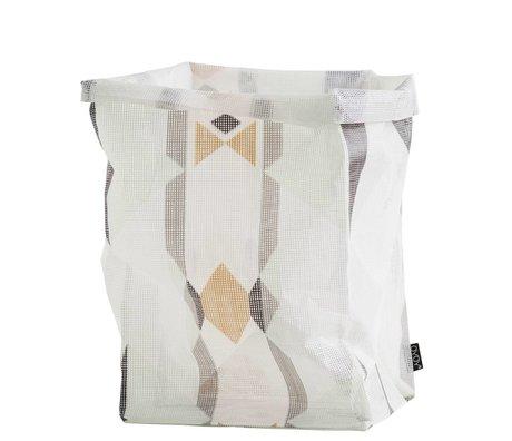OYOY Ausbewahrungskorb 'mumbo jumbo torba' rengarenk polyester 30x30x54cm