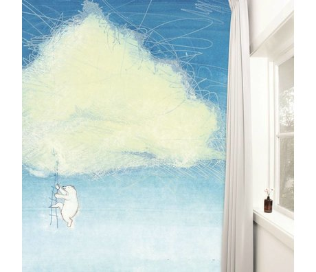 Kek Amsterdam Wallpaper Subir la 389,6x280cm Nubes Multi Paperliners
