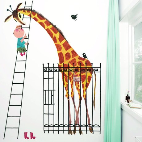 Kek Amsterdam Wallpaper Dev Giraff Multi Paperliners 243,5x280cm