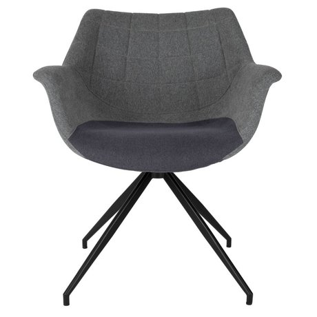 Zuiver Dining chair Doulton gray 67x61x80cm