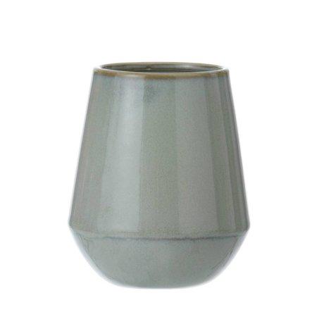 Ferm Living Yeni gri taş glaziert ø10x9cm kupa