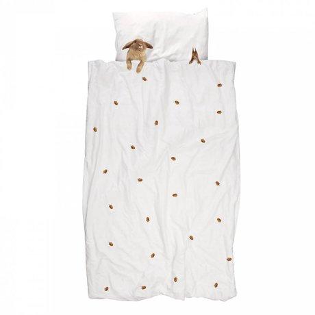 Snurk Keten yatak örtüsü Furry Arkadaş Pamuk 140x220cm