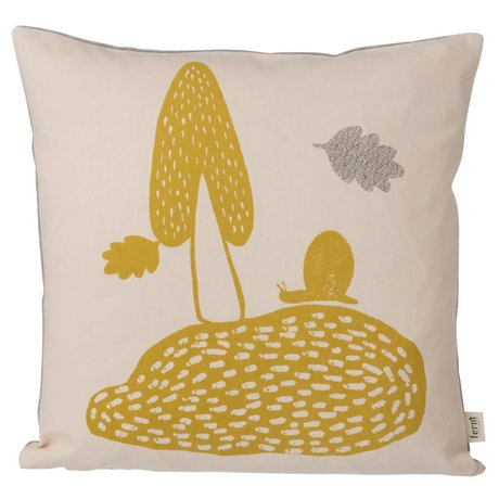 Ferm Living Cushion Landscape pink 40x40cm