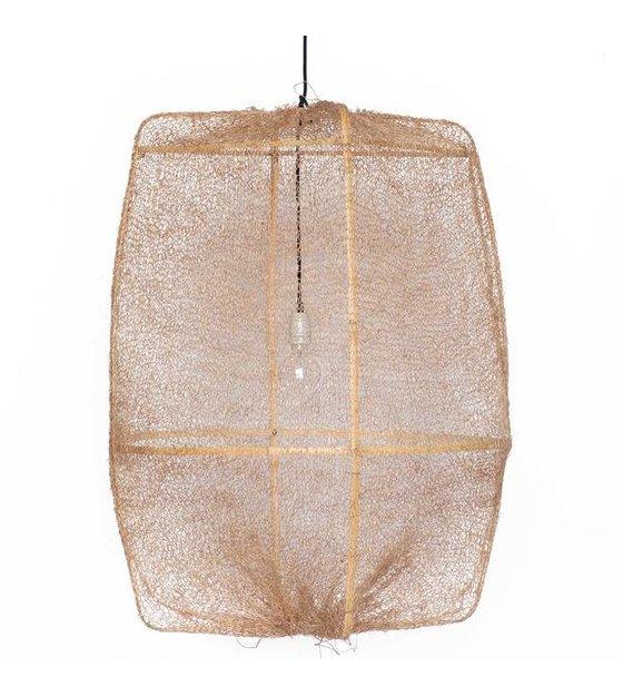 Ay Illuminate Colgando de bambú Lámpara Z2 Ona con tapas marrones ...