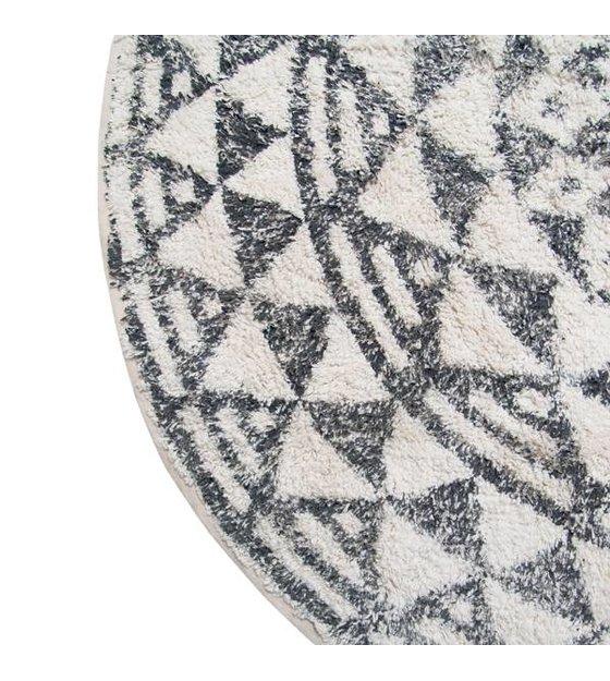 hk living tapis de bain tapis petit rond 60cm. Black Bedroom Furniture Sets. Home Design Ideas