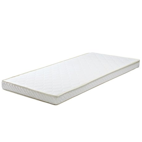 LEF collections Mattress 90x190x12cm white textile polyether mattress drawer