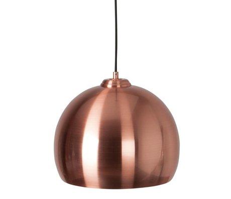 Zuiver Suspension Ø27x21cm Big Glow cuivre métallique