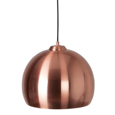 Zuiver Hanging lamp Big Glow copper metal Ø27x21cm