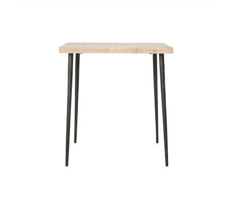 Housedoctor tavolo Previsto 76x70x70cm Mango Legno Metallo
