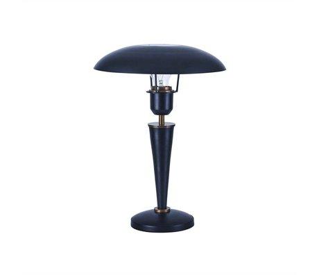 Housedoctor Lampe de table en laiton Opale noire 34cm de métal