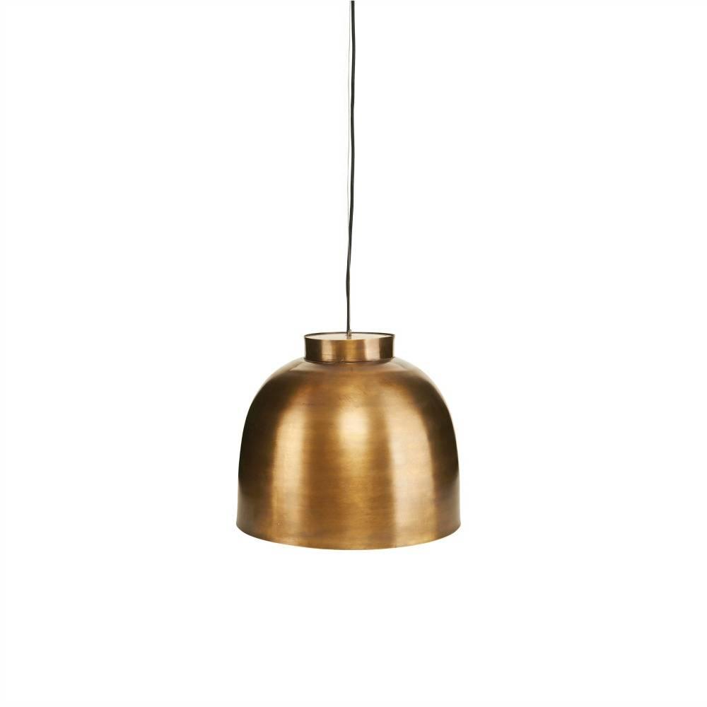 Housedoctor Lampenschirm Bowl Messing Gold ø35cm Leflivingde