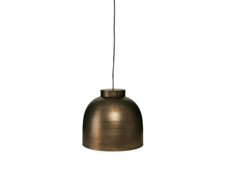 Housedoctor Lámpara colgante de metal de cobre Tazón Ø35cm