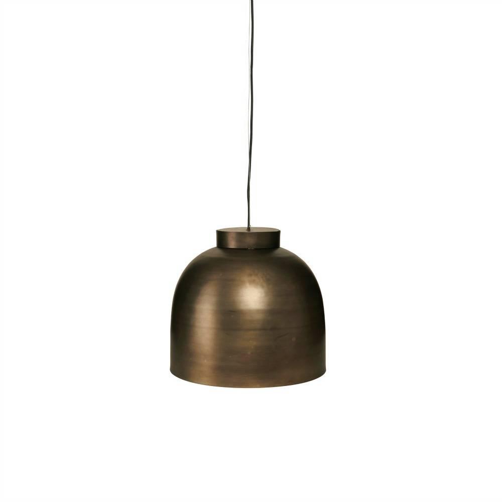 housedoctor h ngende lampe bowl messing metal 35cm. Black Bedroom Furniture Sets. Home Design Ideas