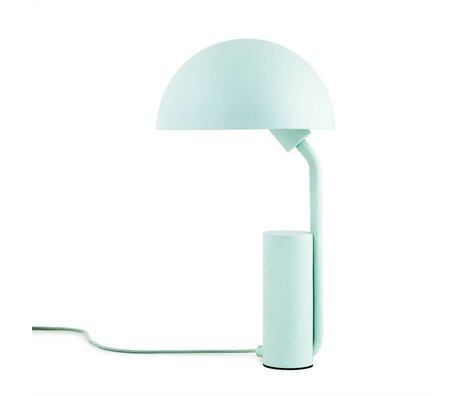 Normann Copenhagen Table Lamp Cap light blue plastic ø28x50cm