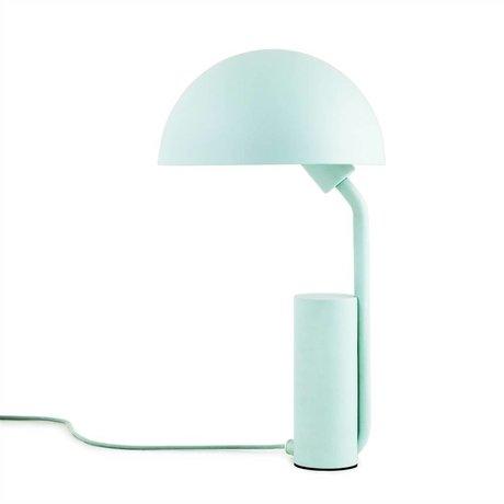 Normann Copenhagen Nachttischlampe Cap hellblau Kunststoff ø28x50cm