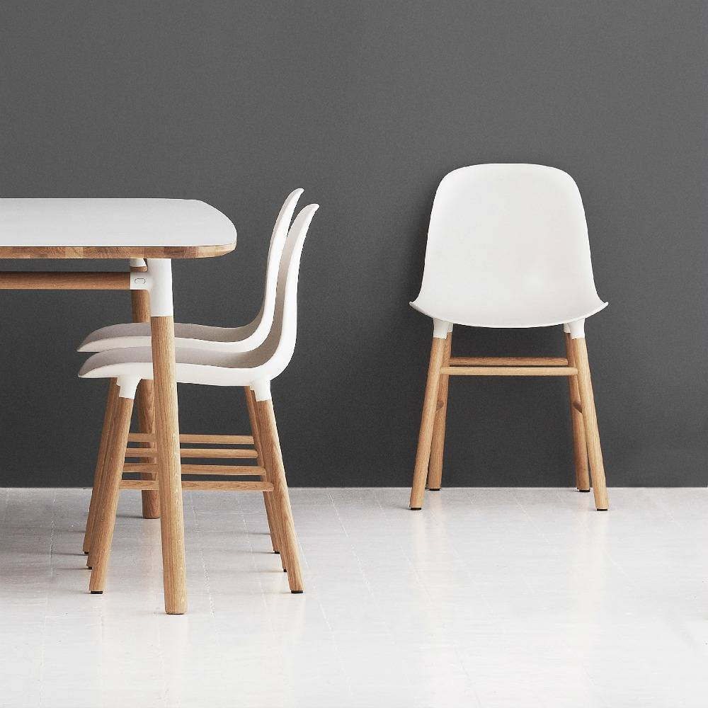 Form Of Normann Copenhagen Has A Minimalist Expression, But Is Extremely  Comfortable! Use It As A Desk Chair, Dining Chair Or As An Occasional Chair.