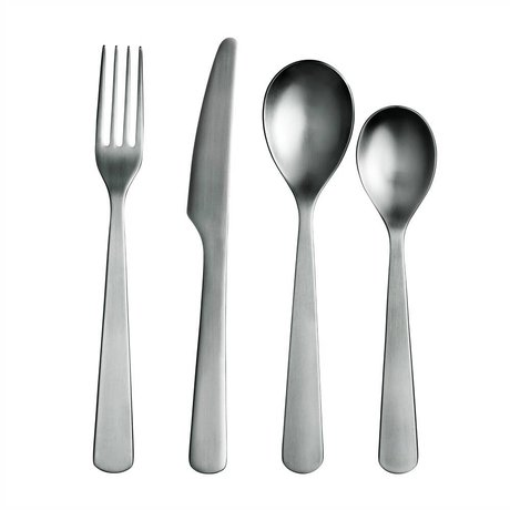 Normann Copenhagen Cutlery Cutlery stainless steel for 4 people