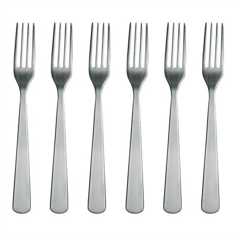 Normann Copenhagen acciaio inox Forcella Normann Posate Set di 6 forchette