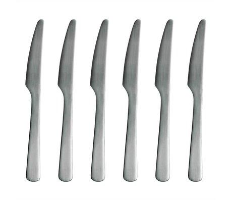 Normann Copenhagen Bıçak Normann Çatal paslanmaz çelik 6 bıçak seti