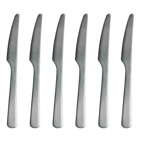 Normann Copenhagen Coltello in acciaio inox Normann Posate Set di 6 coltelli