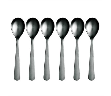 Normann Copenhagen Spoon Normann Cutlery stainless steel set of 6 spoons