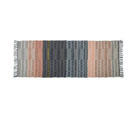 Zuiver Carpet Salmon Multi-colored wool 80x200cm
