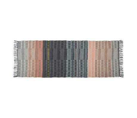 Zuiver Moquette salmone multicolore 80x200cm lana
