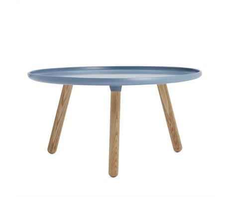 Normann Copenhagen Tabella Tablo blu Kunststof ø78cm cenere