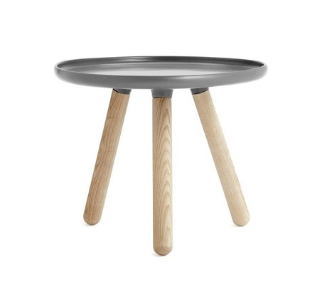 Normann Copenhagen Tisch Tablo in grau Ø50cm
