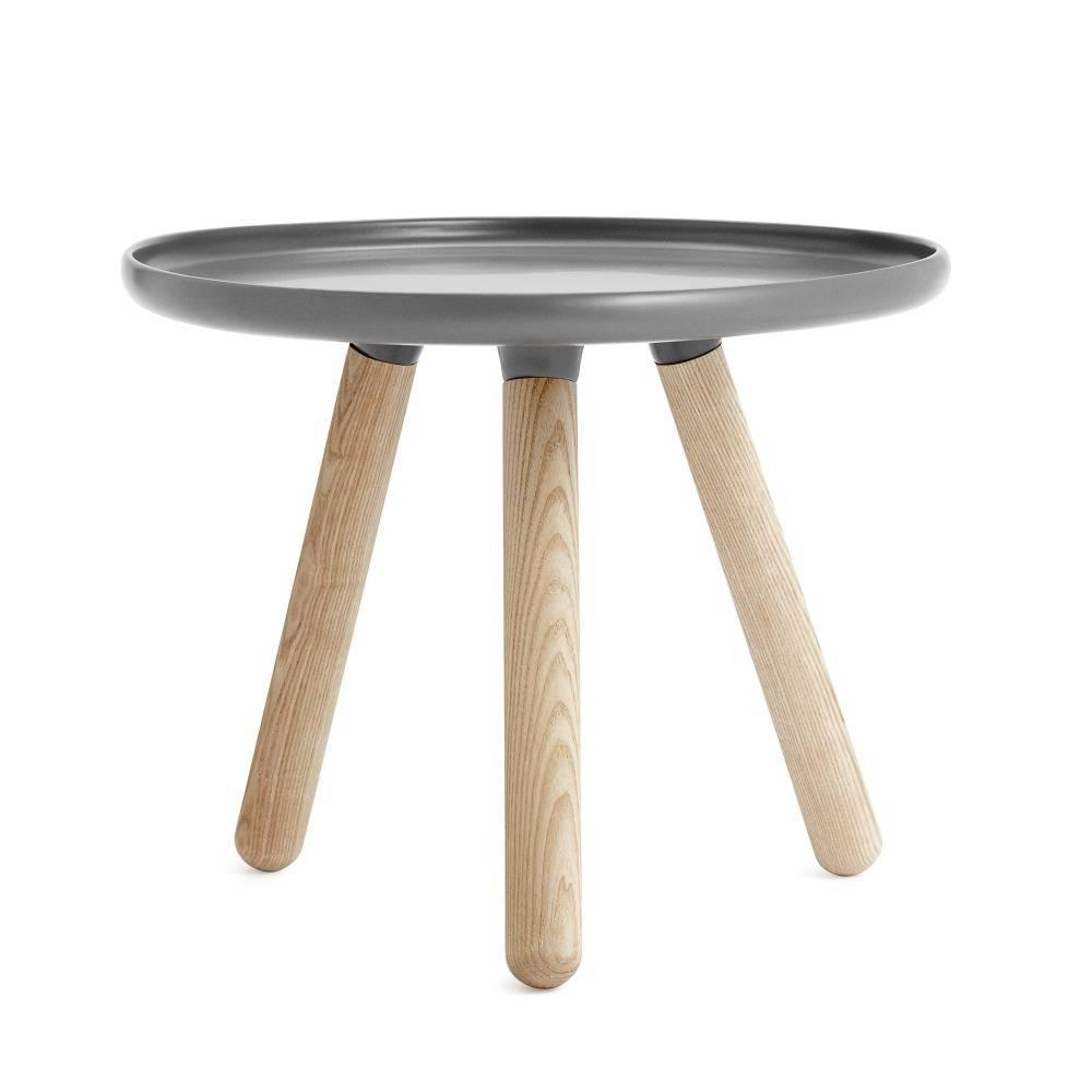 normann copenhagen tisch tablo in grau 50cm. Black Bedroom Furniture Sets. Home Design Ideas