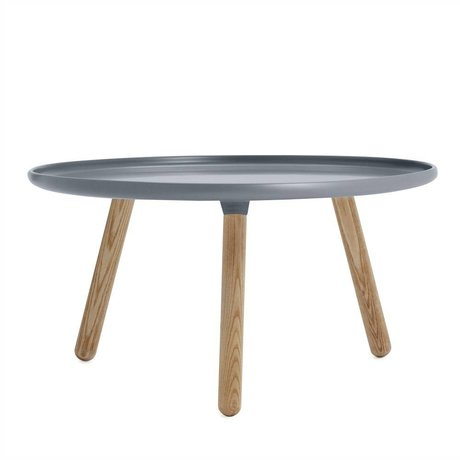 Normann Copenhagen Table Tablo gray plastic ash ø78cm