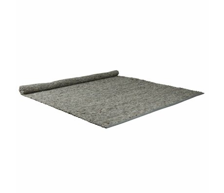 Zuiver Carpet Pure light gray wool sisal 160x230cm