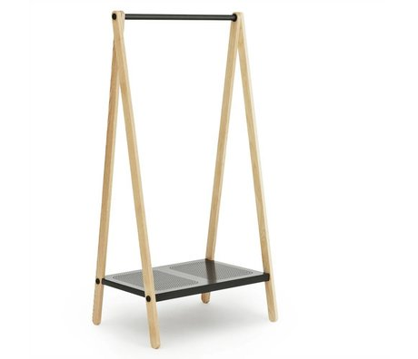 Normann Copenhagen Giyim Toj gri 160x74x59,5cm raflar
