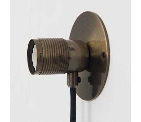 Frama Shop Wandlampe Frama Bronz Ø10cm