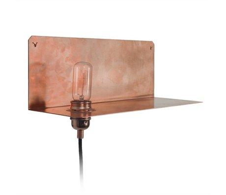 Frama Shop Wall lamp 90 ° Wall copper 15x40x15cm