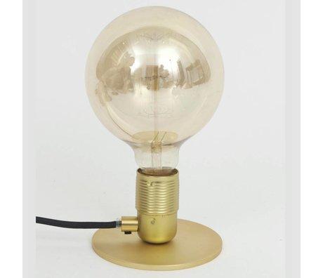 Frama Shop Lampada da tavolo con E27 Oro Ottone Ottone Ø12x7,2cm