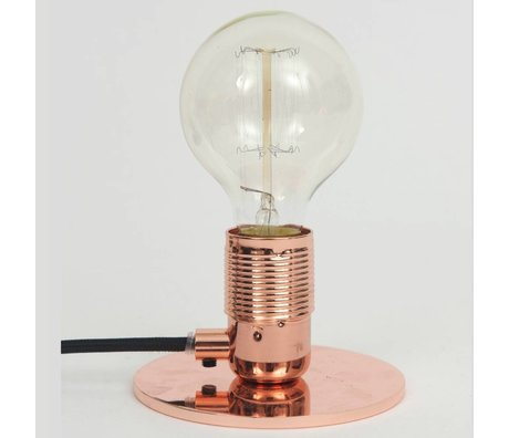 Frama Shop Table lamp with E27 Copper Brass Ø12x7,2cm