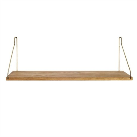 Frama Shop Boghylde Gold Brass messing eg 60x20cm