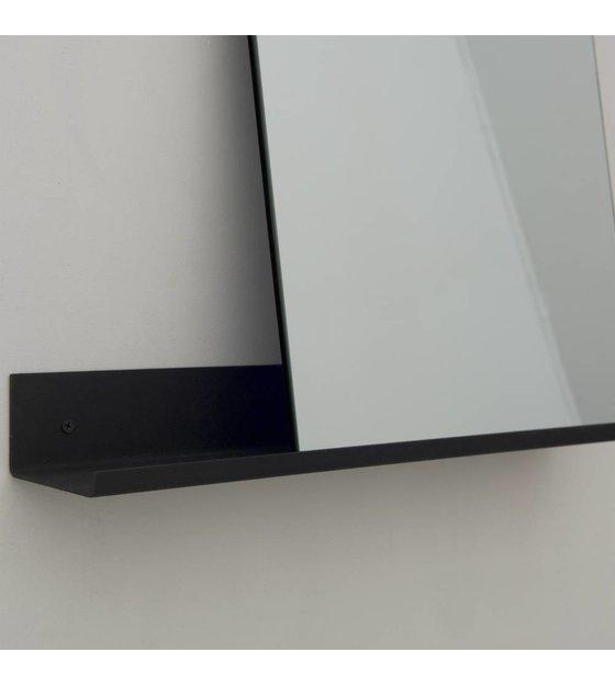 Frama shop specchio mensola 50x50cm alluminio nero - Alluminio lucidato a specchio ...