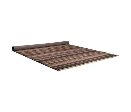 Zuiver Teppich Nepal bunt gestreift 160x235cm