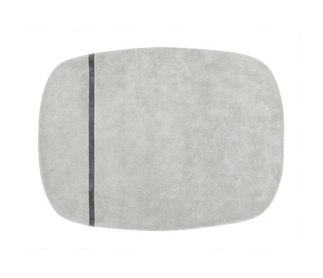 Normann Copenhagen Wool carpet Oona gray 175x240cm