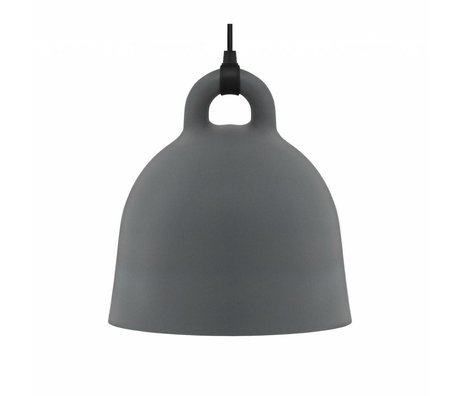 Normann Copenhagen Campana campana de aluminio gris medio 44x42cm