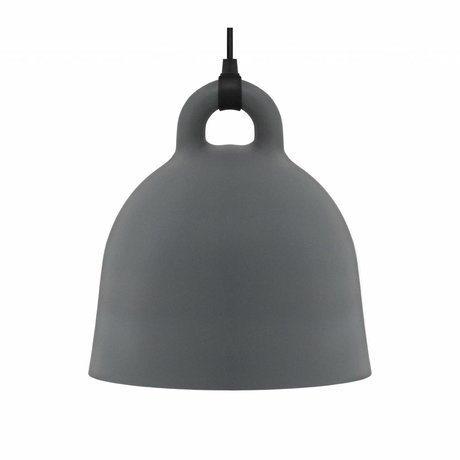 Normann Copenhagen Bell Bell grå aluminium medium 44x42cm