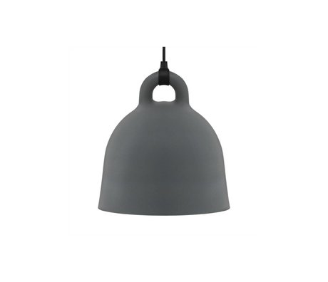 Normann Copenhagen Bell Bell gri alüminyum x-küçük 23x22cm