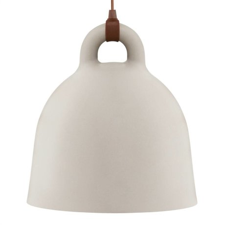Normann Copenhagen Bell Bell sandy brown aluminum large 55x57cm