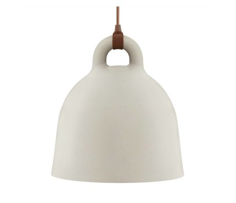 Normann Copenhagen Bell Bell Sand Brown Aluminium medium 44x42cm